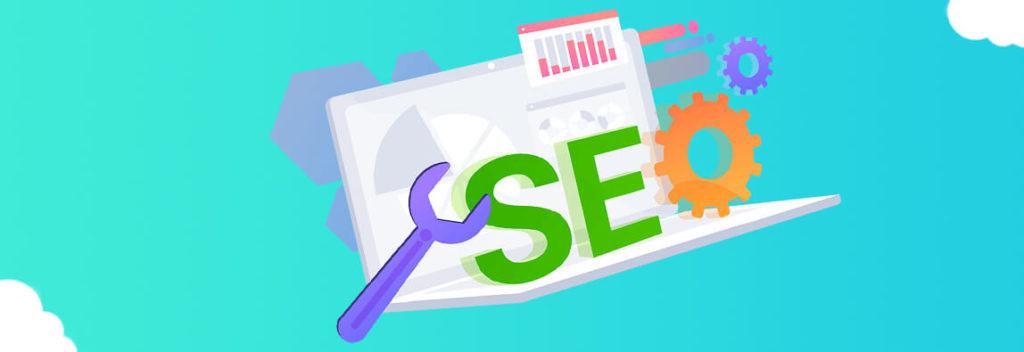 Графическое изображение с надписью SEO