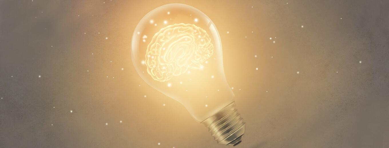 Электрическая лампочка, как символ идеи